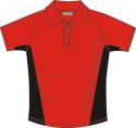 Tričko-polokošile Fischer červená pánská