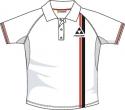Tričko-polokošile Fischer bílá dětská