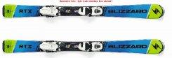 Blizzard  RTX JR Flat, blue/green, Rental