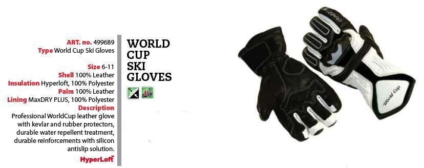 """Další obrázky """"Blizzard World Cup Ski Gloves"""" 4480c8afee"""