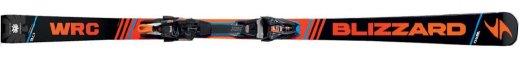 Blizzard WRC + vázání Blizzard XCELL 12 Demo, blk./or./blue