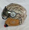 HMR  H3 Bark Leather + štít VTS001