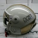 HMR  H3 white/gold mesh + štít VTS1