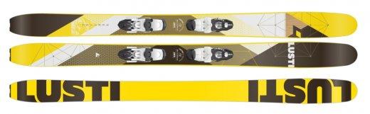 Lusti Vertigo + volitelně bez/s vázáním Vist VSP 412 + deska Vist Speedspacer