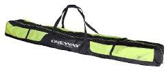 One Way Ski Bag Pro yellow black for 8 pairs