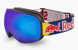 Red Bull Spect MAGNETRON-011, matt black frame/blue headband, lens: blue snow CAT3