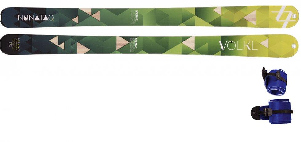 Völkl Nunataq + stoupací pásy 16 17 c007dbdc1df