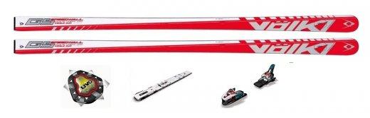 Völkl Racetiger Speedwall GS R 13/14 + UVO + Marker WC Piston Control Plate + vázání Marker Xcell 12.0 / 16.0